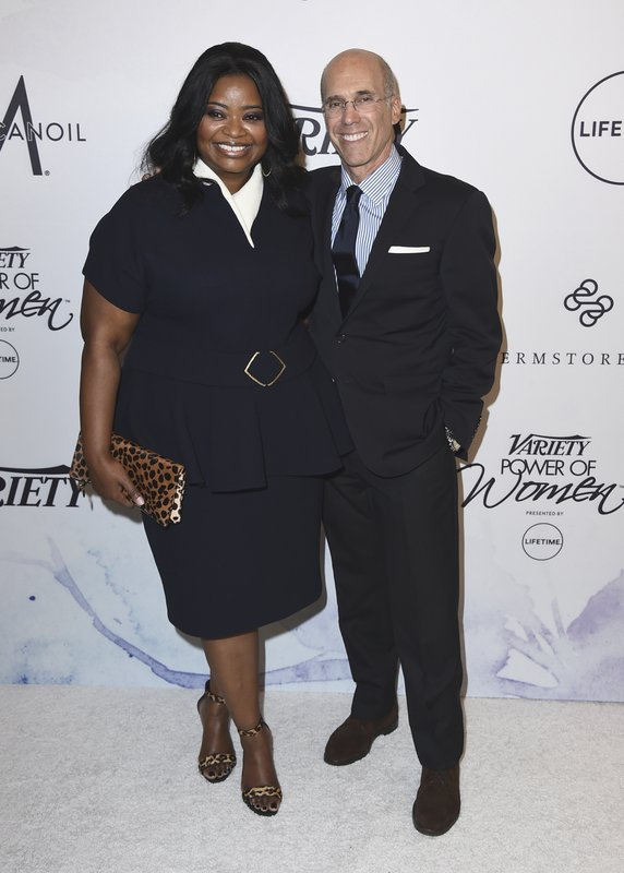 Octavia Spencer, Jeffrey Katzenberg