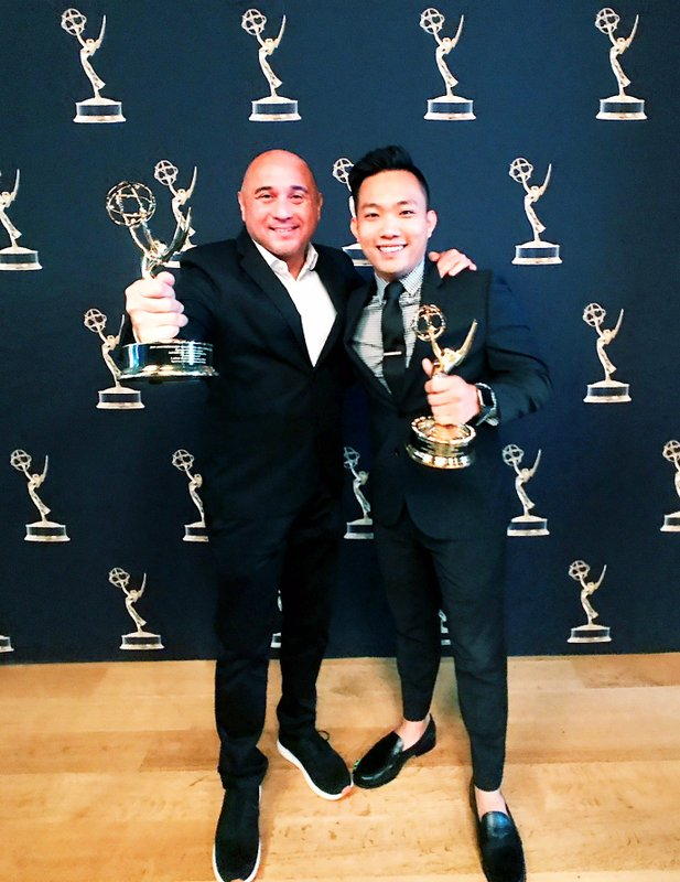 Lanai Tabura and Andrew Tran Awarded an Emmy for Their Program Ramen Yokocho