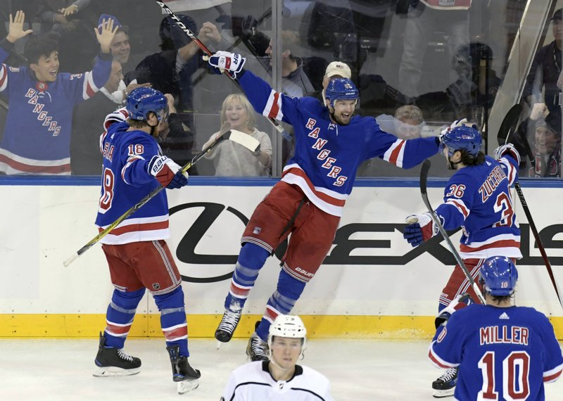 Rick Nash, Marc Staal, Mats Zuccarello