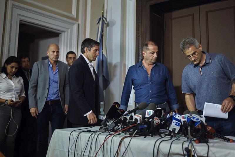 Juan Pablo Trevisan, Ivan Brajkovic, Guillermo Banchini, Ariel Benvenuto,