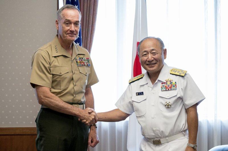Joseph Dunford, Katsutoshi Kawano