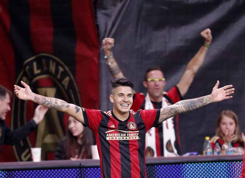d4bfd9192 Atlanta United routs New York Red Bulls 3-0 in East final