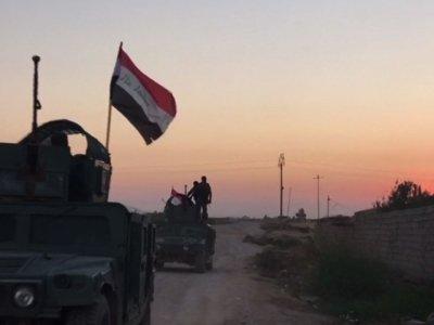 Raw: Iraqi Forces Move Toward Kurd-Held City