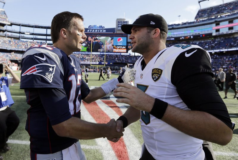 Blake Bortles, Tom Brady