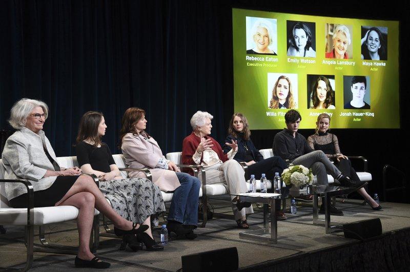 Rebecca Eaton, Annes Elwy, Emily Watson, Angela Lansbury, Maya Hawke, Jonah Hauer-King, Willa Fitzgerald