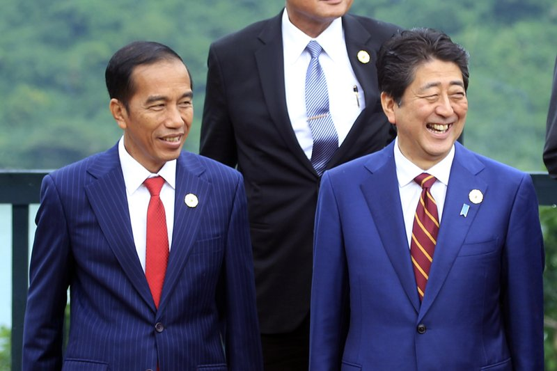 Joko Widodo, Shinzo Abe