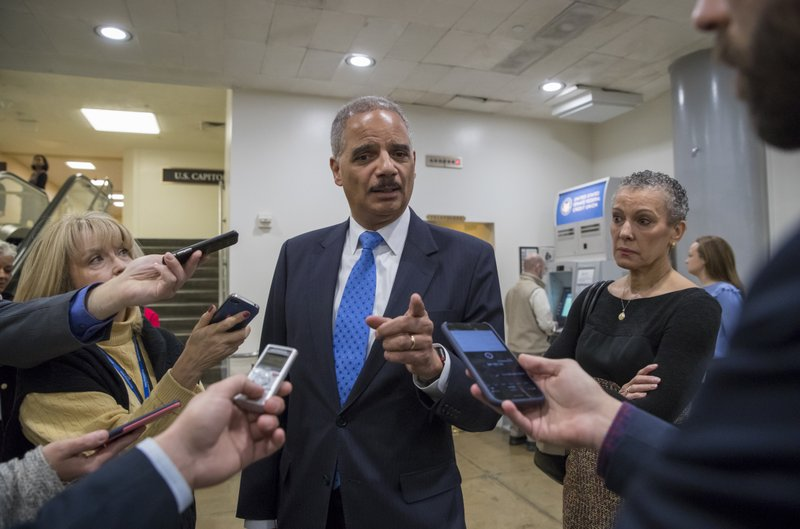 Eric Holder, Sharon Malone
