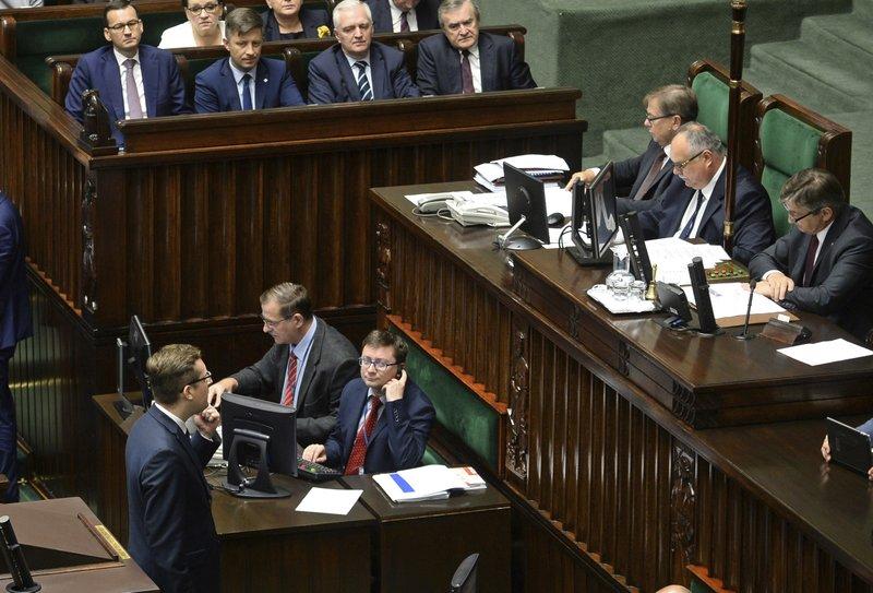 Robert Winnicki, Mateusz Morawiecki, Marek Kuchcinski
