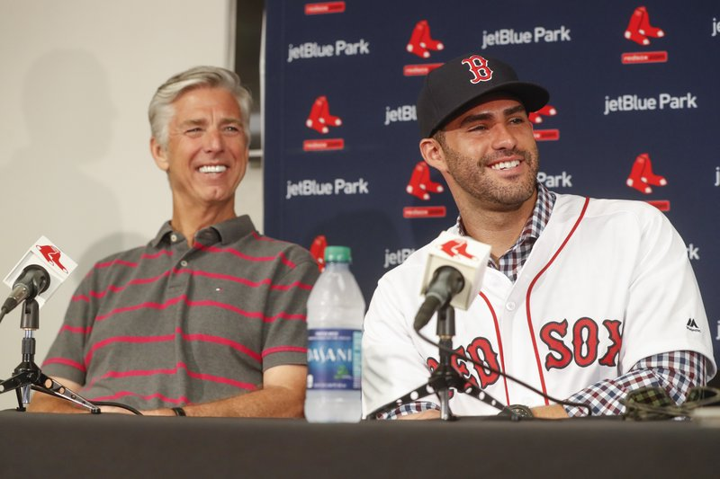 J.D. Martinez, David Dombrowski