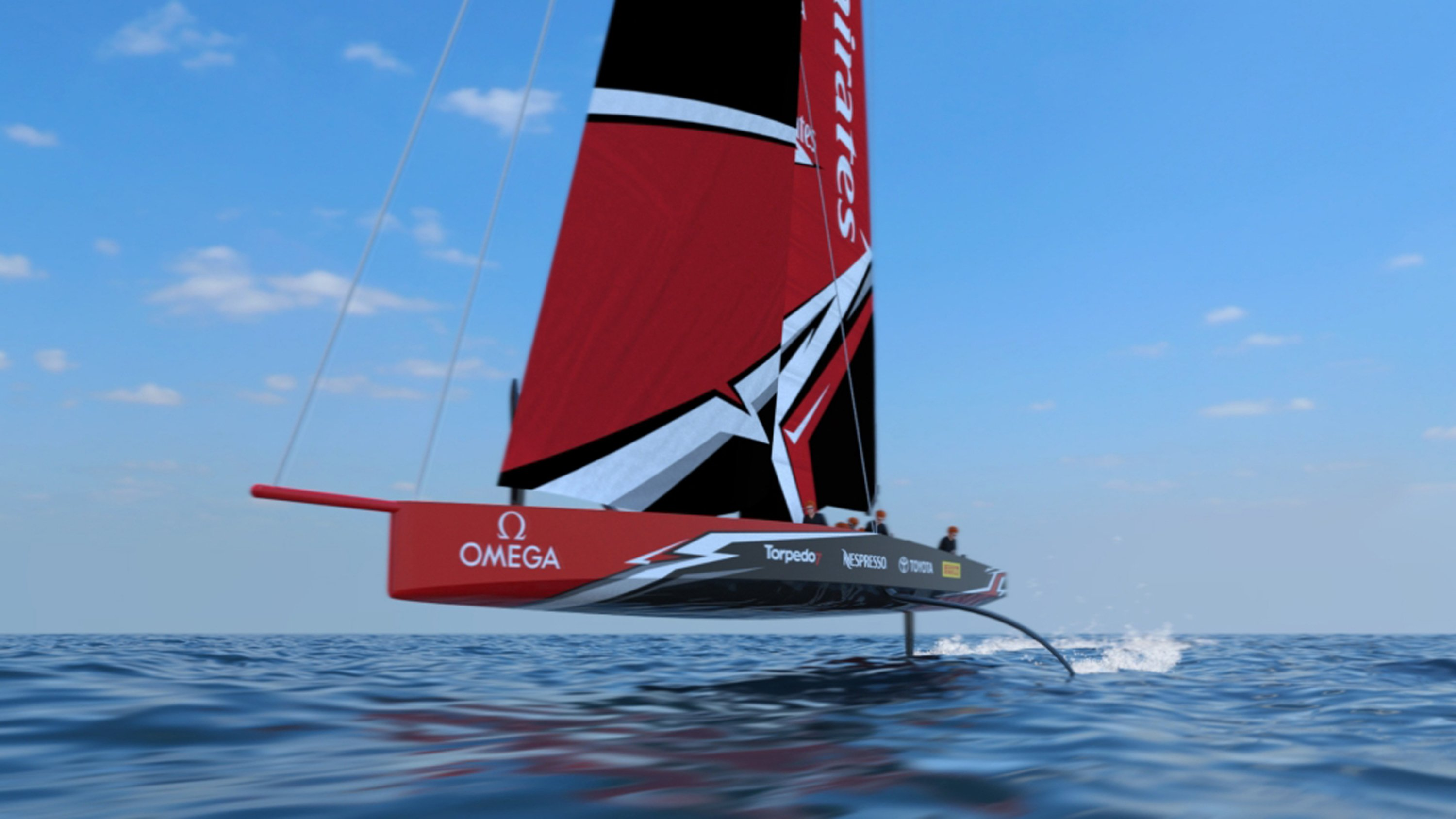 Cup Champ Team New Zealand Unveils Radical Foiling Monohull