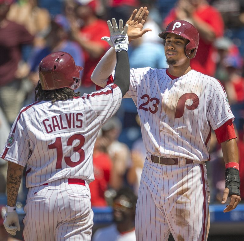 Freddy Galvis, Aaron Altherr