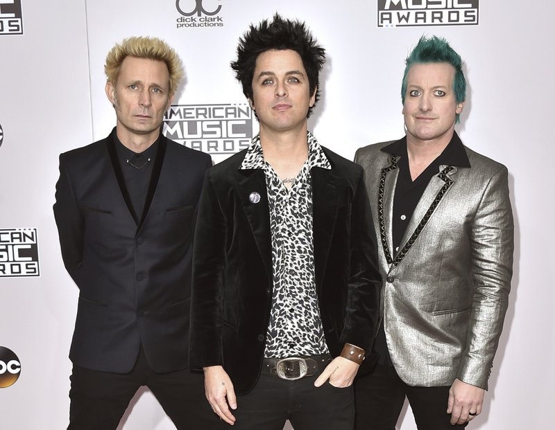 Mike Dirnt, Billie Joe Armstrong, Tre Cool