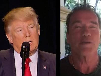 Trump, Schwarzenegger Trade Barbs Over Ratings