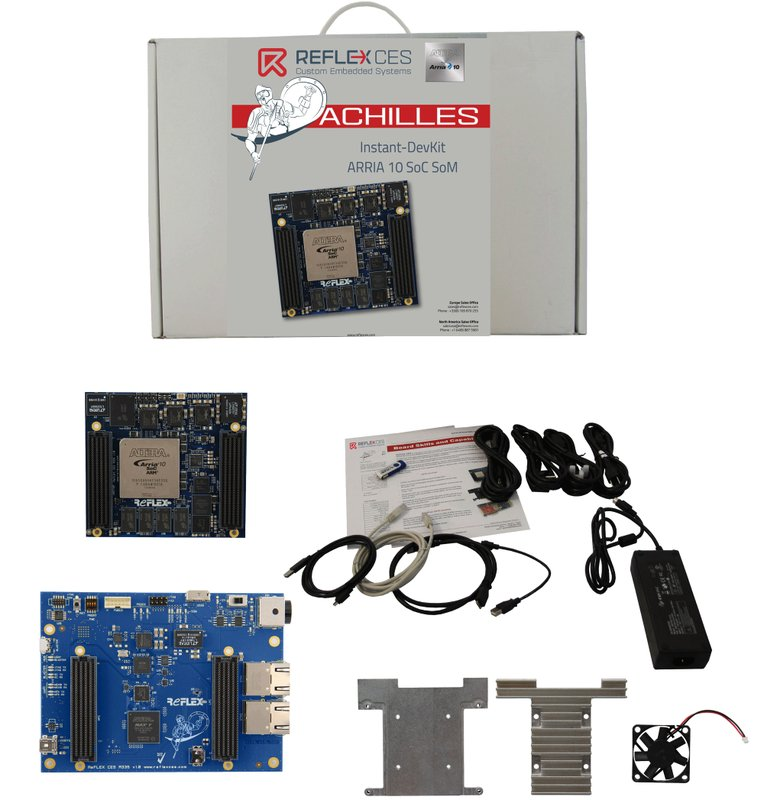 Arria 10 SoC: REFLEX CES Has Shipped Record Numbers of the Achilles Arria 10 SoC System-on-Module