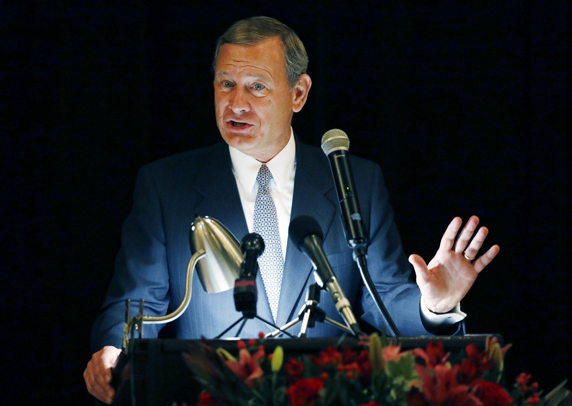 Roberts, Trump spar in extraordinary scrap over judges