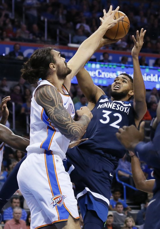 Steven Adams, Karl-Anthony Towns
