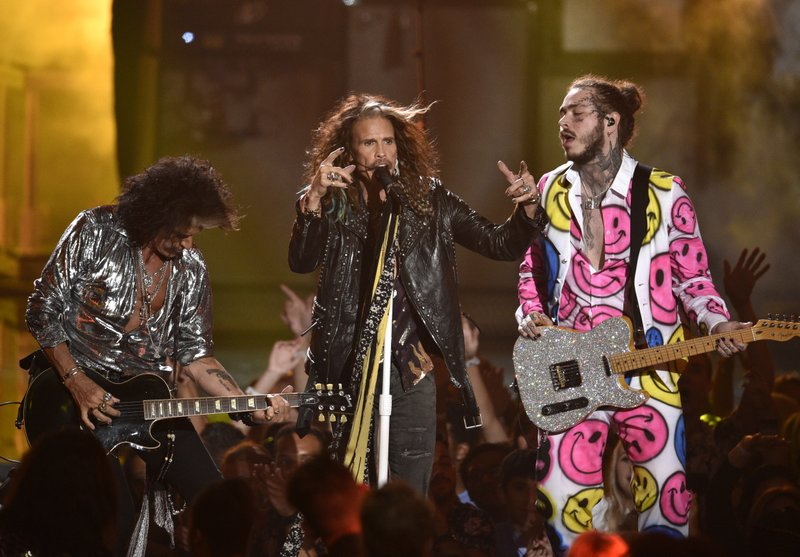 Joe Perry, Steven Tyler, Post Malone