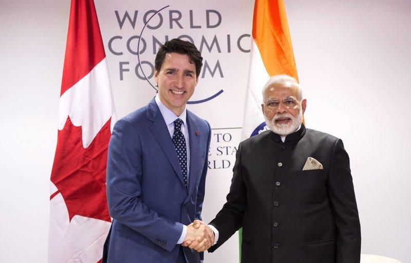 Justin Trudeau Narendra Modi