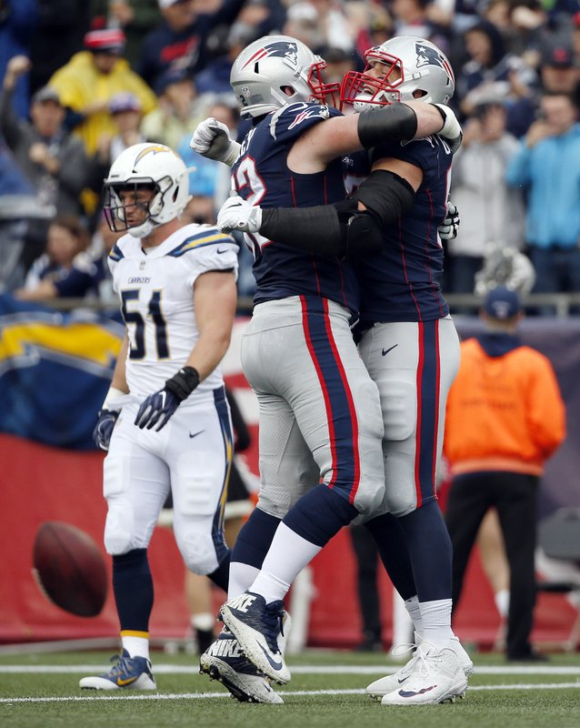 Rob Gronkowski, Joe Thuney