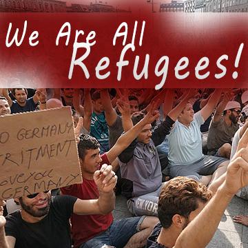 WeAreAllRefugees
