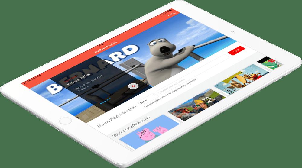 TobyTube - Der Videoplayer für Kids