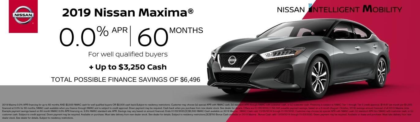Nissan Maxima Offer