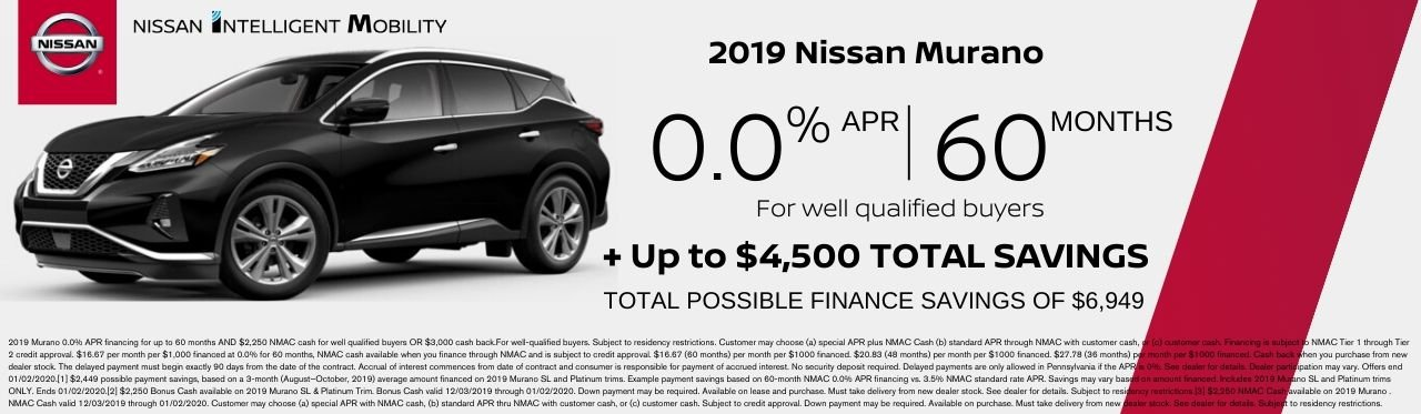 Nissan Murano Offer