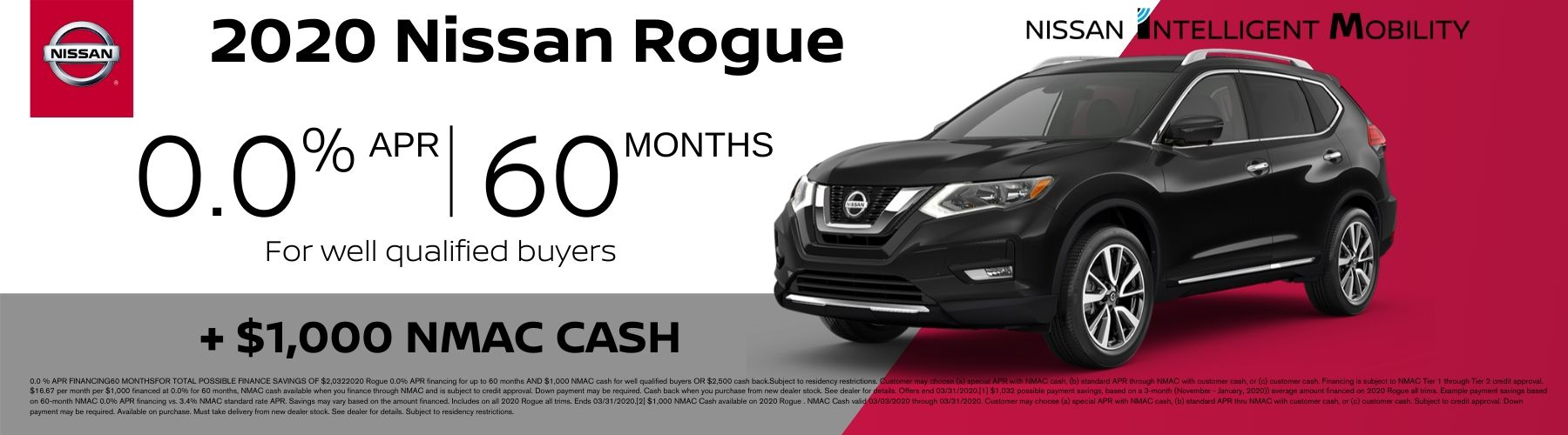 Nissan Rogue Offer