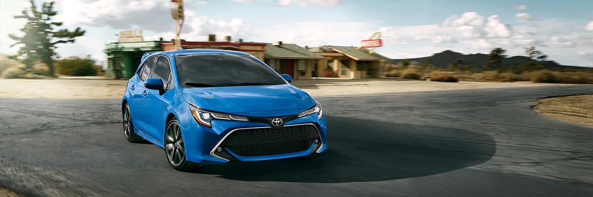certified Toyota Corolla Hatchback