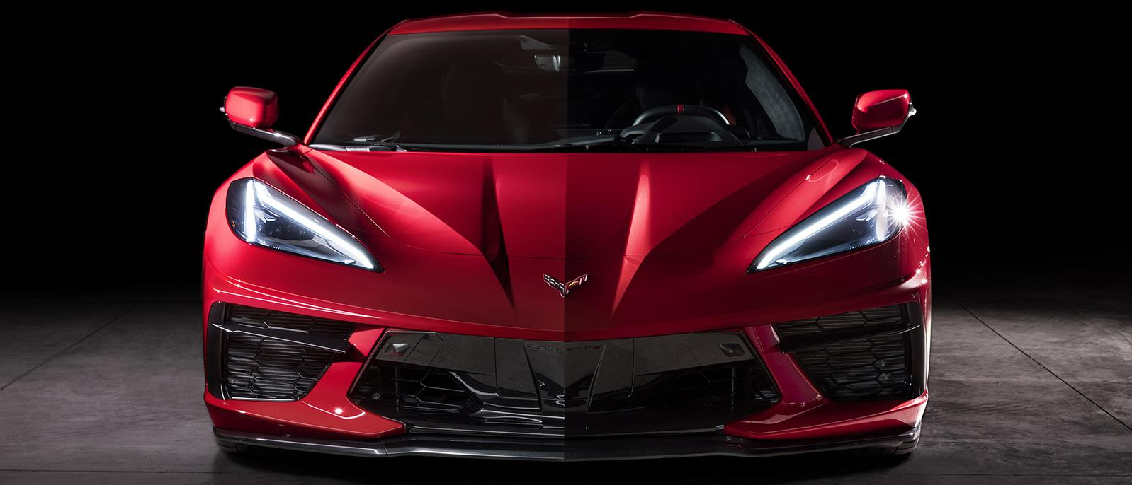 2020 chevrolet corvette exterior front