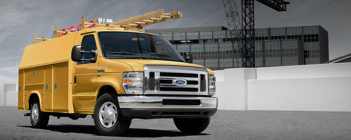 new Ford Econoline Commercial Cutaway