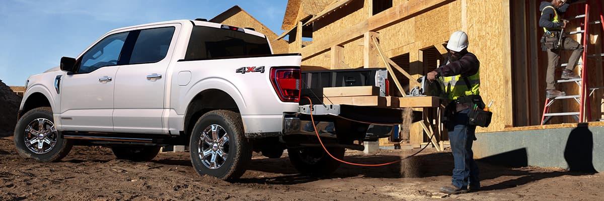 new Ford F-150 Hybrid