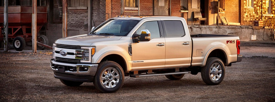 new Ford F-350SD