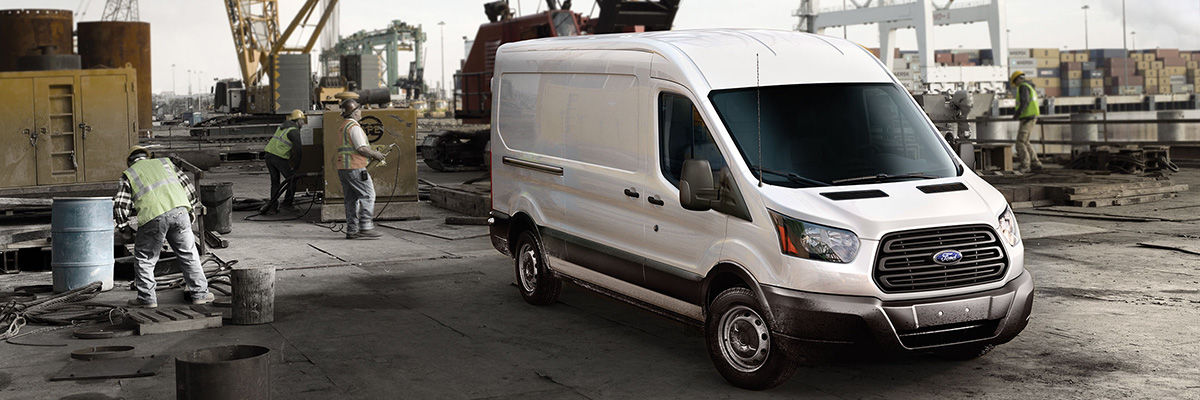 new Ford Transit Cargo Van
