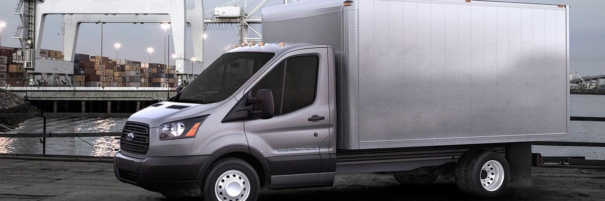 new Ford Transit Cutaway