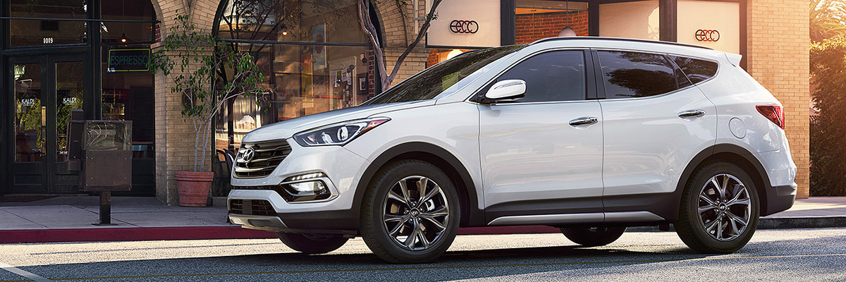 new Hyundai Santa Fe Sport