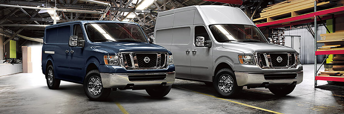 new Nissan NV Cargo