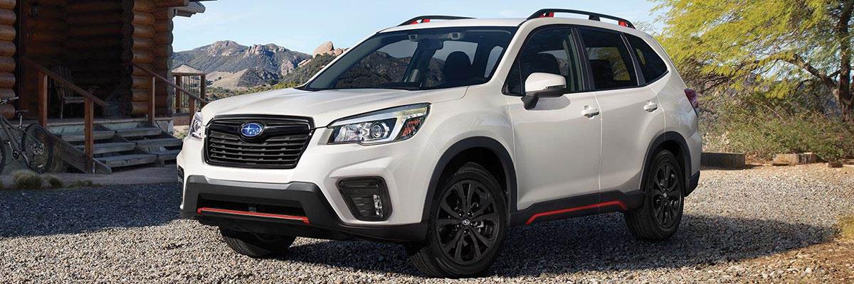 new Subaru Forester