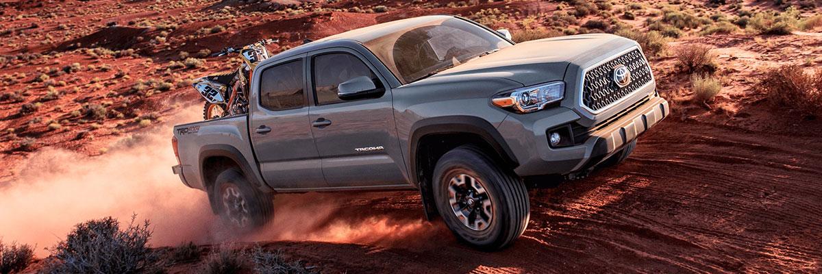 new Toyota Tacoma 4WD