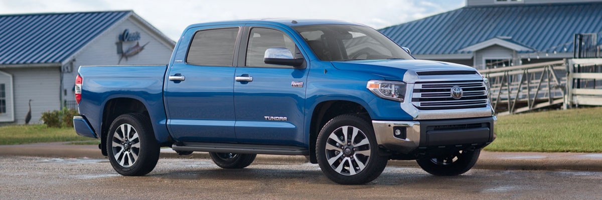 new Toyota Tundra 4WD