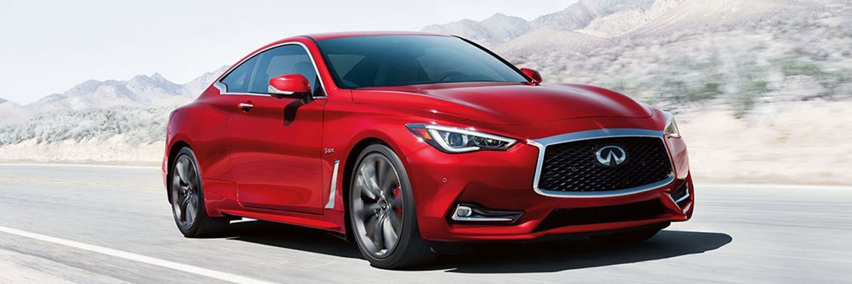 used INFINITI Q60 Coupe