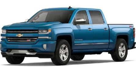 New Chevrolet Silverado 1500 LD
