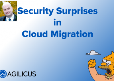 Security Surprises in Cloud Migration