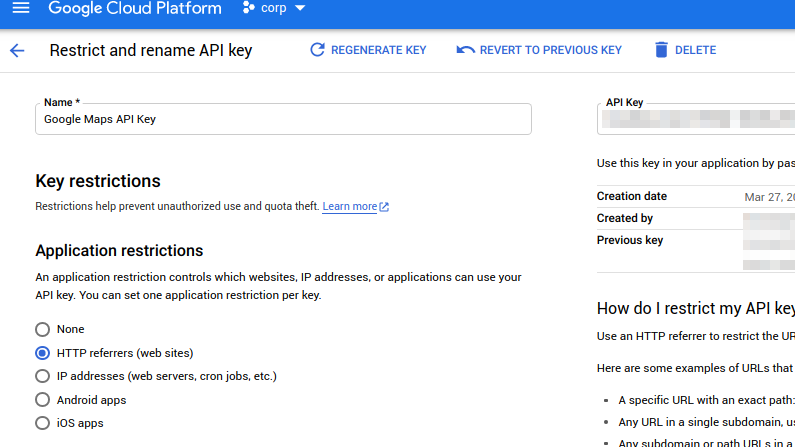Protect your API key (and your credit rating)