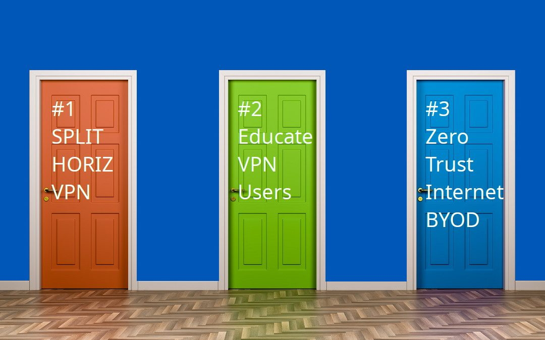 Why your VPN is slow: the case of the work-at-home streaming