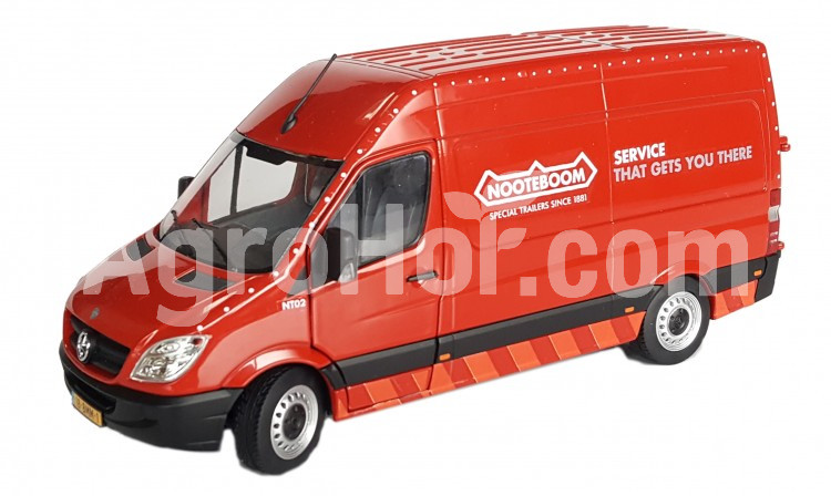 Mercedes-Benz Sprinter red Nooteboom edition