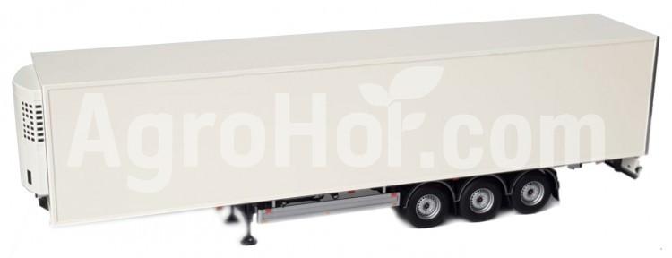 Pacton reefer trailer white
