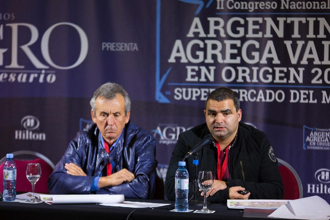Omar Farana - Subsrio. de Pdcción Algodonera, Rubén Bast - Dir. de Drllo Algodonero de Chaco