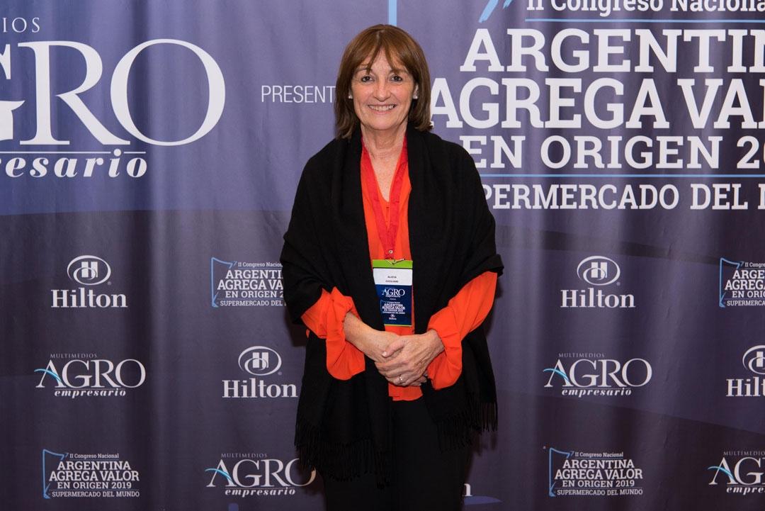 Alicia Ciciliani - Ministra de Producción de Santa Fe