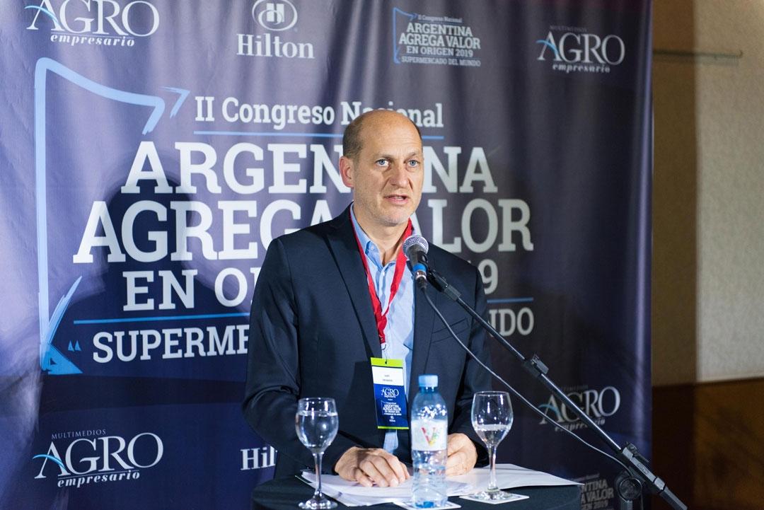 Luis Cevasco - Representante delegado en Bs. As. de la Cámara del Tabaco en Salta